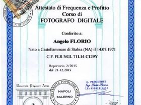 attestato fotografo digitale