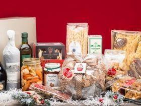 cesto natalizio di a florio fotografo pubblicitario still life food napoli roma
