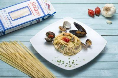spaghetto frutti di mare