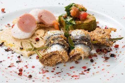 spiedino alici di angelo florio fotografo still life food napoli roma