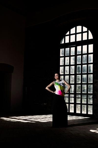 martina abito lungo di angelo florio fotografo pubblicitario fashion glamour napoli roma
