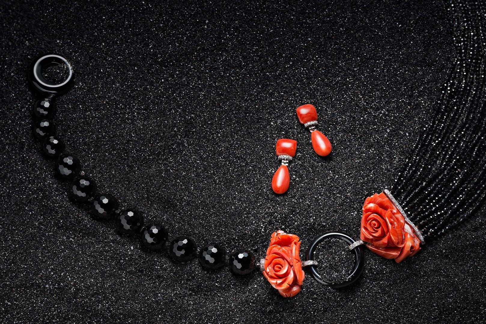collana corallo still life jewellery