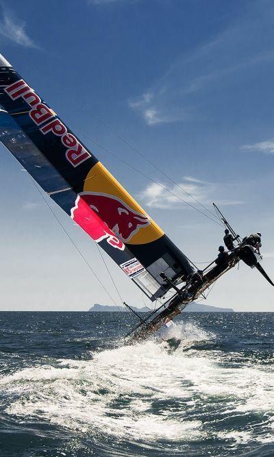 america s cup red bull vela di angelo florio fotografo pubblicitario sailing race napoli roma